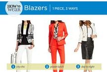 How to Wear: Blazers