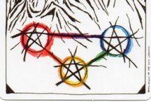 3 de Pentáculos - 3 of Pentacles