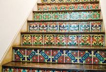 Hallways and Stairs / cool ideas for… you guessed it, hallways and stairs!