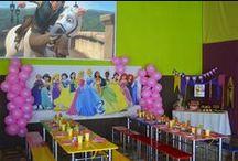 Fiesta Temática Princesas Disney / Organizamos la fiesta de cumpleaños de sus hijos con la temática que más les guste: Monster High, Princesas, Spiderman, Bomberos, Bob Esponja, Dora...!ELIGE YA TU TEMA! (consultar precios)