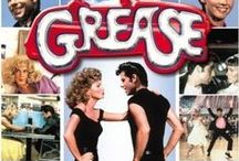 GREASE... For Peace...  A 1980's Vibe... / Grease Is The Word  - This board is a tribute to the Movie Grease....  John Travolta aka Danny Zuko & Oliva Newton John aka Sandra Olsen.  A love story in musical formation of two totally different worlds on a collision courseto be together as one.  Teenage heart throbs, teenage high jinks.. but a very classy, entertaining family movie.  A Favourite: The spin off is Grease 2....