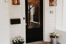 Delightful door steps