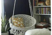 Sillas , hamacas en Macrame/ Crochet / Como hacer hamacas en macrame o crochet
