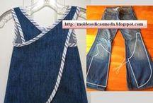 Reciclado con Ropa / reutilizar prendas