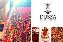 DUSZA a clothing brand with a soul / Eastern folklore, slavic cultures, ethnic traditions, folk costumes, fashion brand...