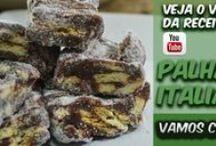 Receitas de Doces! / Minhas receitas de doces publicadas no YouTube! Corré lá para ver ==> https://bitly.com/Eduardo_Sachs
