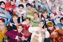 NCT   엔시티 / NCT is a South Korean boy group formed by S.M. Entertainment in 2016. Consists of three units NCT U, NCT 127, NCT Dream.