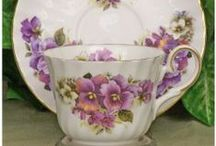 Cups and Saucers etc  / vintage cups and saucers etc