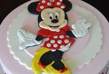 Minnie Mouse, Barbie and Princess 's Cakes / Character cakes for kids.