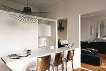 Dans la cuisine / Inspiration pour aménager et éclairer votre cuisine
