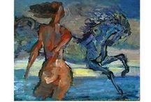 Art (Oil and Acrylic Figurative / Paintings with a focus on the human form / by Linda Lovell