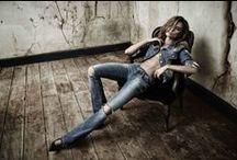 Inverno 2014. / Campanha Trama Jeans Inverno 2014 com a modelo Anne Schoenberger.
