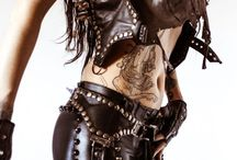 A New Dawn - Steampunk / Old leather, top hats, sexy corsets and ruffled skirts, brass pocket watches - Vintage and Vogue all mixed up love it!