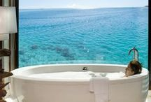When your bath becomes a Boat / Relaxing in your bath takes your mind to wonderful places