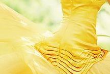 And it was all yellow.. / Yellows gold and chartreuse - original and stunning!!