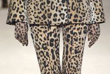 Walk on the Wild side / Animal prints always look great! It's the African in me!