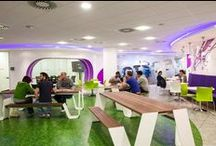 Socialise at work / Eat, drink or get some inspiration with your fascinating colleagues.