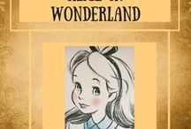 Alice in wonderland / All about my favourite story Alice in wonderland