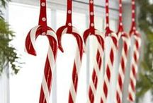 Red & White Christmas Theme / Red & White Christmas Theme Ideas. Be inspired this Christmas.