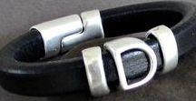 etsygifts / Mens Leather Bracelets