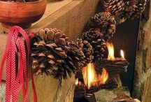 Cozy & Rustic Christmas / Cozy, Warm & Rustic Christmas Decorations and Ideas