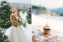 Winter Wedding Inspiration / Be inspired by Christmas when planning your Wedding