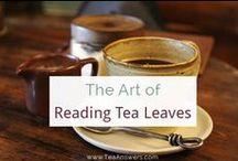 Tea Leaf Reading / Learn how to read tea leaves, what tea leaf symbols mean, what kinds of tea to use to read tea leaves, and more.