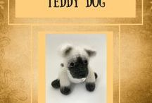 Teddy Dogs / ​Handmade toys dog |Crochet dog | Cute toys | Amigurumi dog | Gift | Christmas gift | Crochet toys | Pattern toys | DIY | Collection toys | Artist dog | Miniature | Blythe friends | Stuffed teddy dog | Teddy dog You can buy my toys on my Etsy Shop - https://www.etsy.com/shop/ToysbySveta