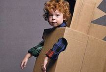 Imaginative Dress Up Play / Easy DIY additions for your dress up box, funny costumes, kids costume ideas.