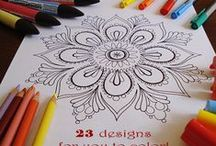 Coloring Pages / Coloring pages for kids. Staying inside the lines optional.