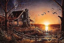 Terry Redlin.....love his country prints!