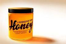 Miel - Honey packaging / Pots de miel, packaging de pots de miel - honey pot packaging