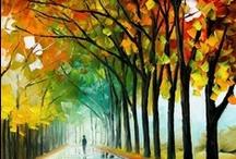 Kleur inspiratie / Ik hou van kleur. Het maakt me vrolijk. Ook vindt ik het erg interessant en inspirerend hoe verschillende kleuren samen een prachtig beeld kunnen vormen.