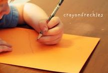 Writing Activities / Activities, crafts and ideas to help kids with their writing skills.