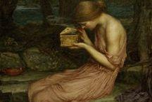 Symbolisme sensuel / Art symboliste de la fin du 19e siècle