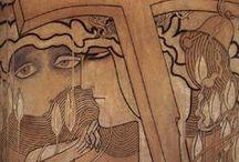Symbolisme décadent / Art symboliste décadent de la fin du 19e siècle