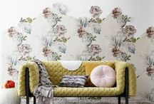 wallpapers and textiles