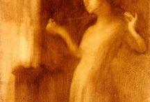 Eugène Carrière / Eugène Carrière, le plus grands artistes peintre du 19e