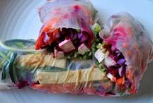 """Vegganissimo """"sushi"""" Spring Rolls Wrappers / by RESPECT ALL"""