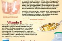 Vitamins for the Skin / by Alleyez4u2