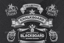 #12 Chalk board