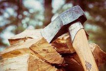 wood / My life !