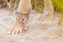 Beaded creations / Ideas, anklets,barefoot sandals creating jewelry with beads