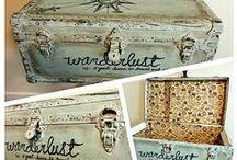 Crafts inspirations / Różne pomysły rękodzieła, głównie w stylu rustykalnym i vintage