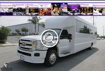 (NJ) PARTY BUS RENTAL (29 Passenger) / This (NJ) Party Bus can accommodate 29 passengers very comfortably. It is equipped with a V.I.P. Area, 4 Big Screen TV's , One vertical bar with champagne flutes, AM/FM/CD, DVD player, I-Pod connection, strobes, laser lights, fiber optic lighting, RGB color wash lighting, wood flooring, 5 Emergency Egress exits, Lavatory and sink.   #partybus #njpartybus   TRULIMO.COM Tel: 908.523.1700