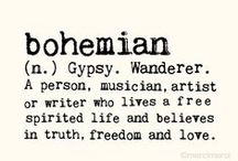 bohemian style / Old fashion never pass