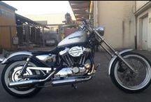 Riders on the storm / Harley Davidson und old style Motorräder, Old Style als Lebensphilosophie