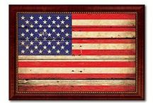 """American Flag, Military Flag, Home Decor, Flag, Gift Ideas / SpotColorArt.com * We Have Over 20,000 NEW Art Design in 2016 Beautiful Home Decor Art & Gift Ideas for Everyone. """"New"""" Trends, Inspirational Quotes, Motivational, Funny, Typo, Photo, Folk Art and MORE. Hand Made in USA. Update your home décor with stylish, Framed Art, Custom Made Canvas Art! They come available in an incredible range of vibrant colors, sizes and designs to choose from! """"NOW"""" On SALE Start $19.99 -"""
