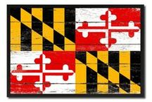 """Maryland, Maryland State, Gift Ideas, Home Decor / SpotColorArt.com Team@SpotColorArt.com We Have Over 20,000 NEW Art Design. Beautiful Home Decor, Art """"New"""" Trends, Inspirational Quotes, Motivational, Hand Made in USA. Update your home décor with stylish, Framed Art, Custom Made Canvas Art! They come available in an incredible range of vibrant colors, sizes and designs to choose from! """"NOW"""" On SALE Start $19.99 -"""