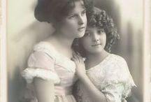 Children in old photographs